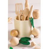 Assortiment Voedsel in Hout Bueni Kids, miniatuur afbeelding 2