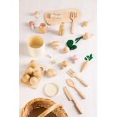 Assortiment Voedsel in Hout Bueni Kids, miniatuur afbeelding 5