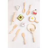 Acatte Kids Houten Ontbijtset, miniatuur afbeelding 1