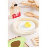 Acatte Kids Houten Ontbijtset, miniatuur afbeelding 3