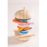 Hamburger in Hout Bur Kinderen , miniatuur afbeelding 2
