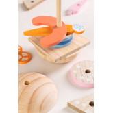 Hamburger in Hout Bur Kinderen , miniatuur afbeelding 3