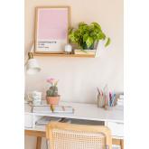 Decoratief blad (30x40 cm) kleurenpalet, miniatuur afbeelding 1