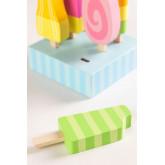 Friggo Kids houten ijsjes set van 6, miniatuur afbeelding 3