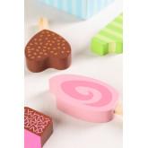 Friggo Kids houten ijsjes set van 6, miniatuur afbeelding 4