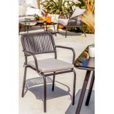 Pack van 6 stoelen Arhiza, miniatuur afbeelding 1