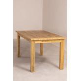 Rechthoekige houten eettafel (150x85 cm) Alya, miniatuur afbeelding 4