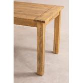 Rechthoekige houten eettafel (150x85 cm) Alya, miniatuur afbeelding 5