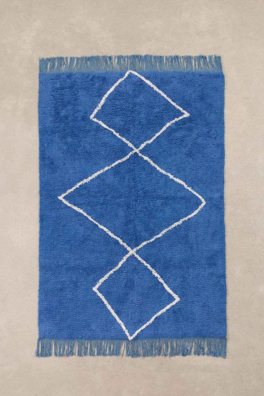 Katoenen vloerkleed (204x125 cm) Vlü, galerij beeld 1