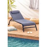 Ligstoel met kussentjes, miniatuur afbeelding 1