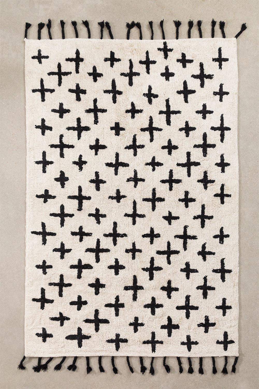 Katoenen vloerkleed (209x122 cm) Zuul, galerij beeld 1