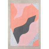 Katoenen vloerkleed (190x115 cm) Cler, miniatuur afbeelding 1054996