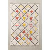 Katoenen vloerkleed (185x120 cm) Geho, miniatuur afbeelding 1