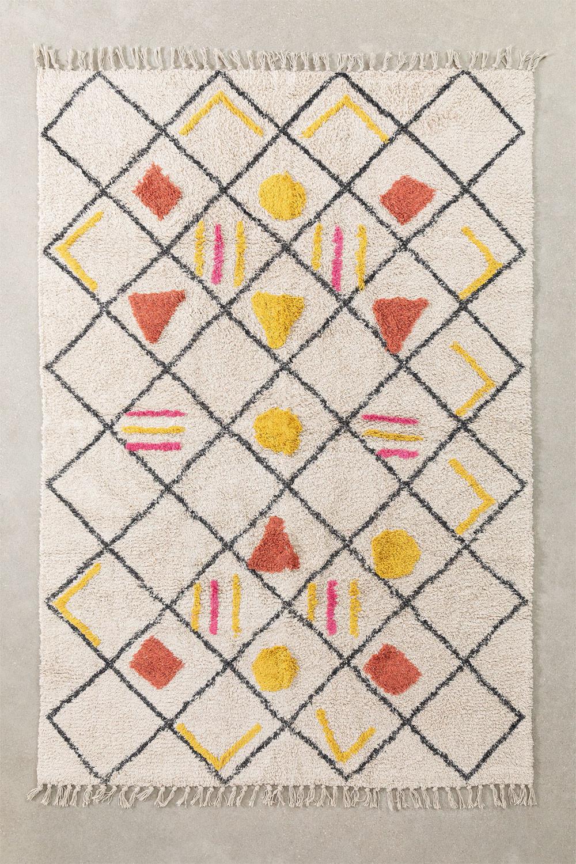 Katoenen vloerkleed (185x120 cm) Geho, galerij beeld 1