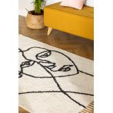 Katoenen vloerkleed (185x125 cm) Fäsy, miniatuur afbeelding 1