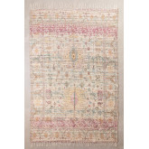 Vloerkleed van jute en stof (284x174 cm) Demir, miniatuur afbeelding 1
