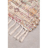 Vloerkleed van jute en stof (284x174 cm) Demir, miniatuur afbeelding 2