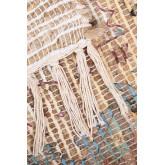 Vloerkleed van jute en stof (284x174 cm) Demir, miniatuur afbeelding 3