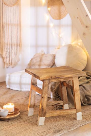 Lage Pid houten kruk