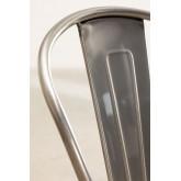 LIX stoel geborsteld staal met houten zitting , miniatuur afbeelding 5