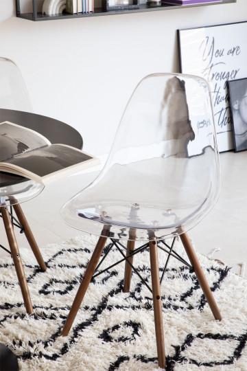 Brich Scand transparante stoel