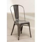 LIX stoel geborsteld staal , miniatuur afbeelding 2