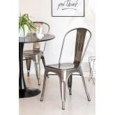 LIX stoel geborsteld staal , miniatuur afbeelding 1