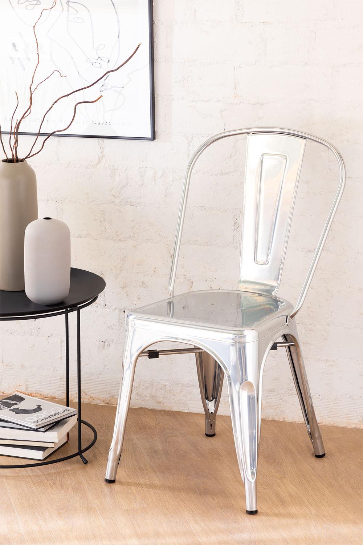 LIX stoel geborsteld staal , galerij beeld 1