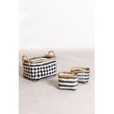 Set van 3 Thais Baskets, miniatuur afbeelding 1