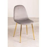 Pack 4 stoelen in Corduroy Glamm, miniatuur afbeelding 1