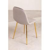 Pack 4 stoelen in Corduroy Glamm, miniatuur afbeelding 2