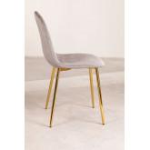 Pack 4 stoelen in Corduroy Glamm, miniatuur afbeelding 3