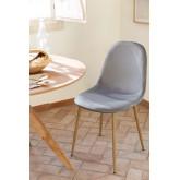 Pack 4 stoelen in Corduroy Glamm, miniatuur afbeelding 5