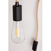 Tina natuurlijke wandlamp, miniatuur afbeelding 5