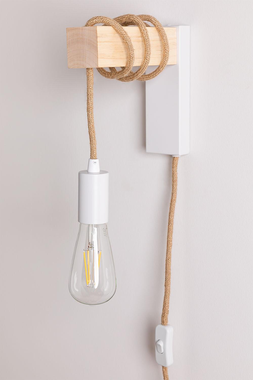 Tina natuurlijke wandlamp, galerij beeld 1