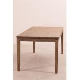 Zale uitschuifbare houten eettafel (180-230x90 cm), miniatuur afbeelding 4