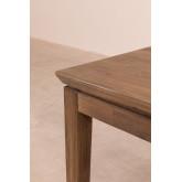 Zale uitschuifbare houten eettafel (180-230x90 cm), miniatuur afbeelding 5