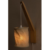 Wandlamp met hangscherm Uroa, miniatuur afbeelding 4