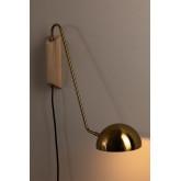 Ercsi metalen wandlamp, miniatuur afbeelding 2