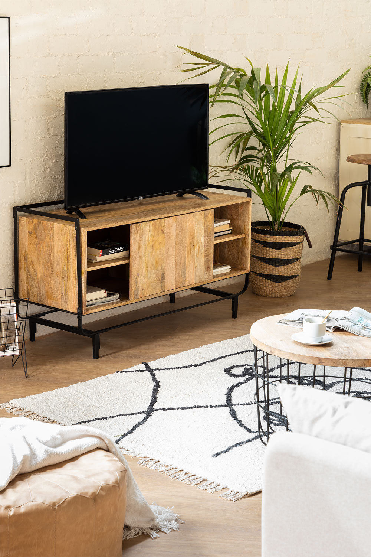 Mango Ghertu houten tv-meubel, galerij beeld 1