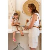 Set van 2 schorten voor volwassenen en kinderen Zacari, miniatuur afbeelding 1