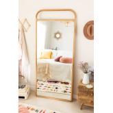 Houten staande spiegel (180x80 cm) Dani, miniatuur afbeelding 1