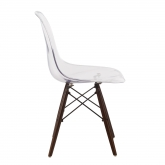 Brich Scand transparante stoel , miniatuur afbeelding 2
