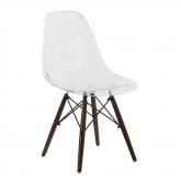 Brich Scand transparante stoel , miniatuur afbeelding 1