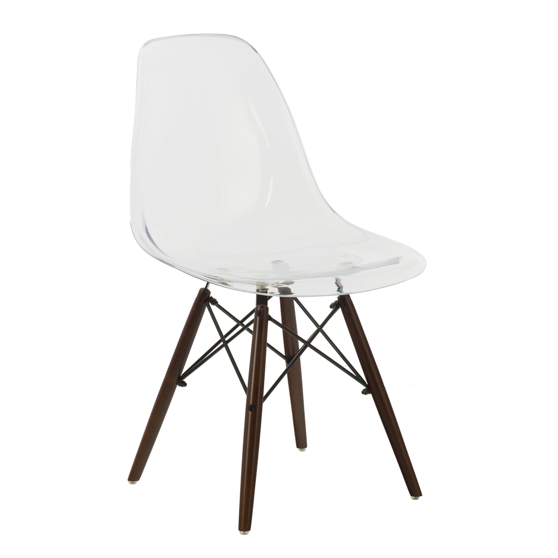 Brich Scand transparante stoel , galerij beeld 1