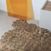 Vloerkleed van natuurlijk jute (205x130 cm) Syrah, miniatuur afbeelding 2