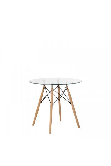 Brich Scand tafel Ø80