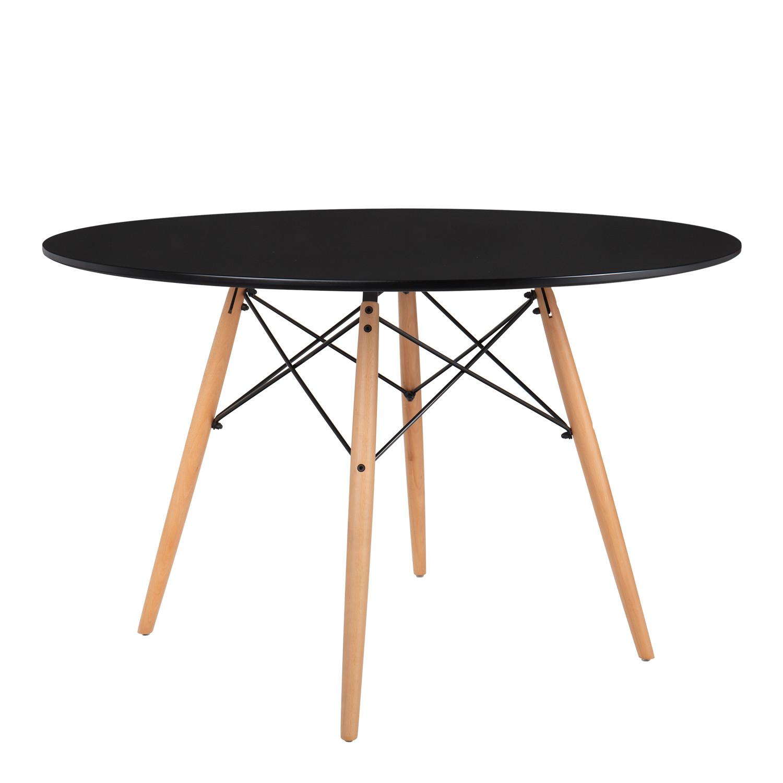 MDF Brich Scand tafel Ø120, galerij beeld 1