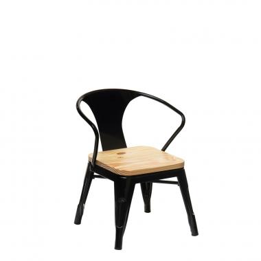 LIX houten stoel met armleuningen KIDS