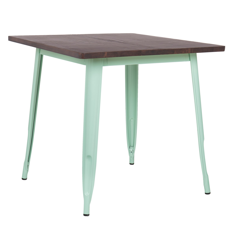 LIX houten tafel (80x80), galerij beeld 1